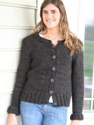 Glory Days Cardigan pattern by Briar Rose Fibers