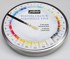 Details Pebeo Artist Painting Water Colour Aquarelle Fine 24