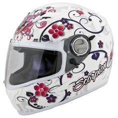 Scorpion Women's EXO-500 Dahlia 2 Helmet - pink