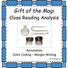 """This free holiday product is a close reading analysis of O. Henry's short story, """"Gift of the Magi."""" There is a teacher's instruction page, which details how I have used this document in my own classroom, specifically targeting the importance of the gradual release process. A full sample annotation packet is also included."""