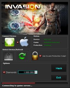 Invasion Online War Game Hack Cheats Tool  Invasion Online War Game Hack is Modhacks.com a new tool, that we all want to present to you. If you ever glimpse at all the other hacks on line, this amazing tool is the most effective. This specific tool was made to be functioning on Android os …