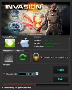 Invasion online war game hack cheats triche