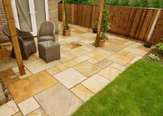 Mint sandstone paving slabs for exterior home decor offered by Stonemart, the leading sandstone supplier in India.