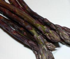 Roasted Purple Asparagus Recipes #asparagus #purple #veganfood #veganrecipes #vegetables #vegetarian #vegetarianrecipes