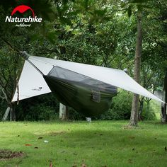 119.60$  Buy now - http://alie3a.worldwells.pw/go.php?t=32671445773 - NatureHike Ultralight Wind-Cloud Single Hammock Complete System With Bug Net  Rain Fly and suspension 20D Nylon Sleeping Tent