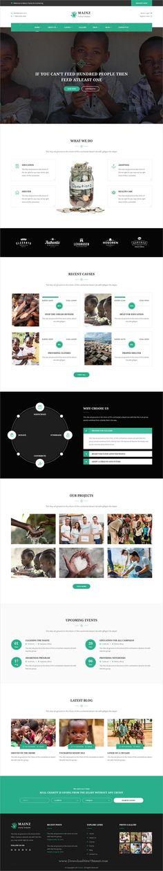 Impressive charity website templates NGO Website Templates - ngo templates