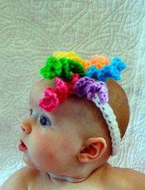 baby headbands by crochetedcuddles