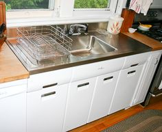 Undermount Kitchen Sinks With Drainboard boholmen undermount | sinks, kitchens and ikea butcher block