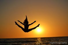 jumping pictures at a beach sunset - Google Search