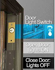 JAM SWITCH. Lee Electric 209DN 600-Watt Door Light Switch for master closet and pantry?