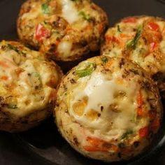 Paleo- Egg Quiche Muffins