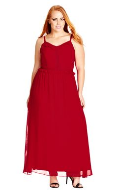 f9a2af33c9f City Chic - MYSTICAL MAXI DRESS - Women s Plus Size Fashion City Chic - City  Chic
