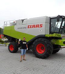 Комбайн CLAAS Lexion 570 Hybrid