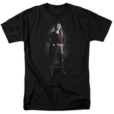 Short Sleeve Regu... has just been added to our store. Get it here while still available http://everythinglicensed.com/products/short-sleeve-regular-fit-t-shirt-supergirl-supergirl-noir?utm_campaign=social_autopilot&utm_source=pin&utm_medium=pin