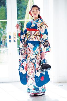 Japanese Costume, Japanese Kimono, Japanese Girl, Kimono Fashion, Fashion Outfits, Japanese Outfits, Nihon, Japanese Beauty, Yukata