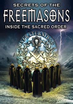 Secrets of the Freemasons: Inside the Sacred Order (DVD) Masonic Lodge, Masonic Temple, Masonic Symbols, Economic Systems, Aliens And Ufos, Eastern Star, Freemasonry, Knights Templar, New World Order