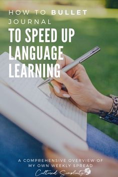 The Smart way to bullet journal to speed up language learning (Self-Quarantine Edition) - Cultured Simplicity Best Language Learning Apps, Learning Languages Tips, Learn Languages, French Language Lessons, Spanish Language Learning, French Lessons, Spanish Lessons, Grammar Lessons, Learn German