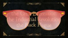 thru the rose-colored history glasses...