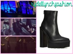 Jeffrey Campbell Famous Boot -- Worn at the Charlotte, NC Concert on September 7, 2014