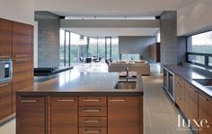 20 Must-See Modern Kitchens   LuxeDaily - Design Insight from the Editors of Luxe Interiors + Design