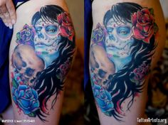 Muerte Tattoo Artists Genuardis Portal
