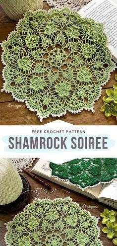 Vintage Crochet Doily Pattern, Crochet Thread Patterns, Free Crochet Doily Patterns, Crochet Doily Diagram, Crochet Dollies, Granny Square Crochet Pattern, Crochet Flowers, Crochet Home, Diy Crochet