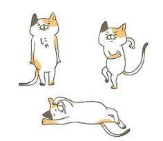 55 件のおすすめ画像ボード猫イラスト2016 Cute Cats
