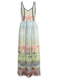 DESIGNED BY Butterfly Maxi Dress - Miss Selfridge US