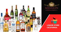 Liquor Store California _ Mission Liquor is the premier online wine and spirits store in Southern California.We strive to provide the outstanding products at lowest prices.