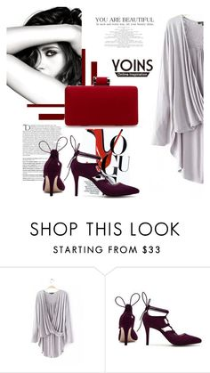 """Yoins 1"" by fashion-addict35 ❤ liked on Polyvore featuring Balmain and Chanel"