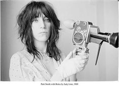 Patti Smith! via Ariel Dougherty, a @womenmakemovies founder. Thanks, Ariel!