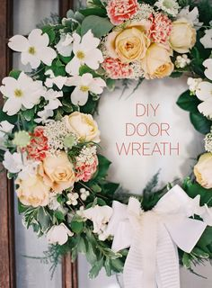 DIY Wedding Wreath