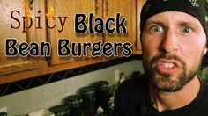 Black Bean Veggie Burgers - Cooking with The Vegan Zombie (+playlist)