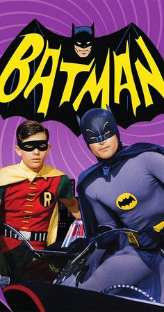With Adam West, Burt Ward, Alan Napier, Neil Hamilton. The Caped Crusader battles evildoers in Gotham City in a bombastic 1960s parody of the comic book hero's exploits.