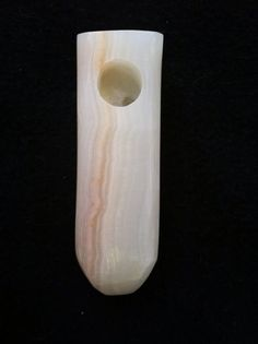 Hand Carved Brazilian Ice Onyx Stone Smoking Pipe
