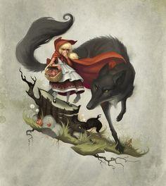 big, bad wolf @Lisa Joanne Eddy