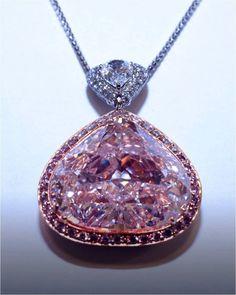Natural Pink Diamond 29.78 carats - Flawless - GIA