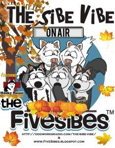 """FiveSibes """"The Sibe Vibe"""" featuring Husky House Siberian Husky & Fellow K-9 Rescue of NJ. Oct 2016"""