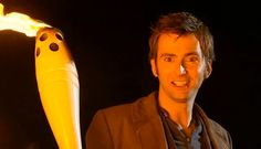 doctor with the olympic torch