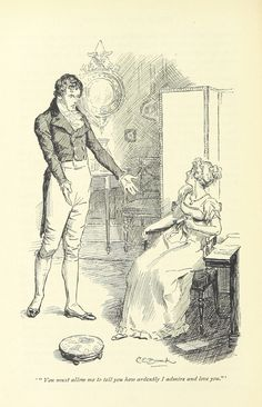 Gorgeous Jane Austen Novel Illustrations From the Time Before Adaptations-- Pride and Prejudice