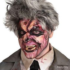 Join the walking dead this Halloween with a gory zombie makeup look! Check out our step-by-step guide to create one hideously cool effect!