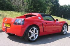 2003 Vauxhall VX220 NA by Steve Coulter Performance Cars.