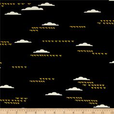 Designed by Charley Harper for Birch Fabrics, this interlock knit fabric has a beautiful soft hand and 25% stretch across the grain. A soft stable knit, this fabric is perfect for baby and kids apparel such as onesies, pants, tops, blankets, knit dresses, and heavier T-shirts. This high quality interlock knit would also be great in women's wear for whimsical dresses and tops. GOTS certified organic cotton. Colors include black, white and yellow.