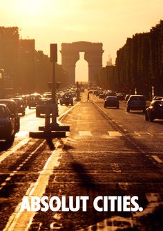 ABSOLUT CITIES. by Pawel Pacholec, via Behance