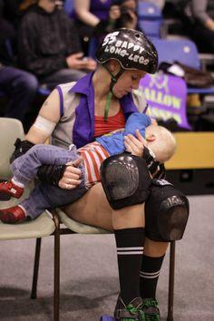 #breastfeeding #rollerderby #derbymum  #bfing #derby