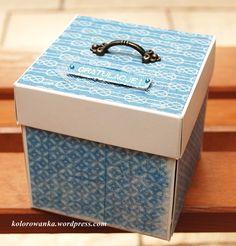 wybuchające pudełko na ślub
