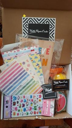Hello Paper Crate Subscription Box Review