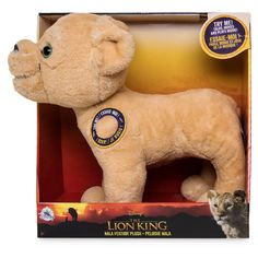 You can feel the love tonight when cuddling this Nala talking plush toy that really moves and plays music. Inspired by Disney's 2019 film version of The Lion King. Disney Dogs, Disney Plush, Disney Parks, Resort Logo, Dog Pajamas, How To Make Animations, Disney Lion King, Disney Sketches, Best Kids Toys