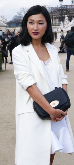 wonderfull White Combination/ Paris, 2014 Jardin du Louvre