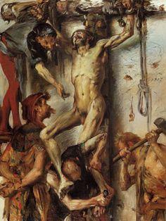 Lovis Corinth, Martyrdom. My favorite painting.